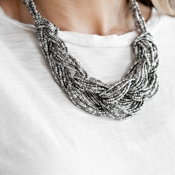 City Catwalk Silver Necklace